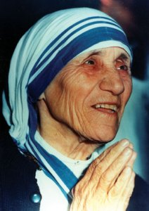I may not be mother Teresa, but I do believe I have a place in God's Heart.
