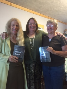 My friends and I at last year's book signing.
