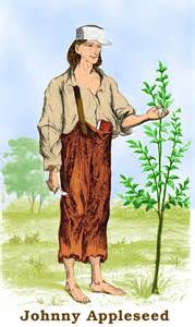 johnny Appleseed colored